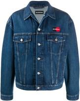 Balenciaga Uniform logo jacket