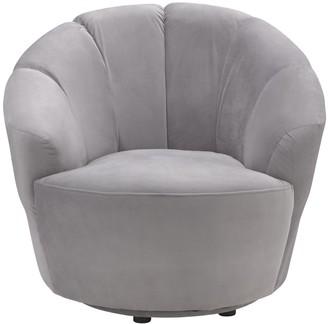Argos Home Ezra Velvet Swival Chair
