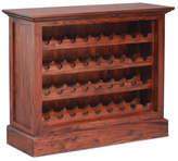 Small Wine Rack Finish: Mahogany