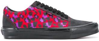 Vans Leopard Print Sneakers
