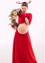 Happy Cherry Maternity Photography Props Clothing Pregnance Shoot Outfits