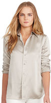 Polo Ralph Lauren Silk Charmeuse Shirt