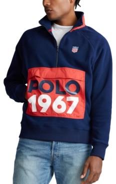 Polo Ralph Lauren Men's Hybrid Quarter-Zip Jacket