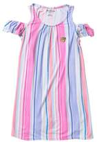 Juicy Couture Cold Shoulder Striped Dress (Little Girls)