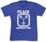 Crazy Dog T-shirts Crazy Dog Tshirts Flux Capacitor T Shirt Funny Throwback (Classic Movie Shirts Youth) M