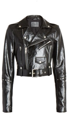Givenchy Studded Leather Biker Jacket