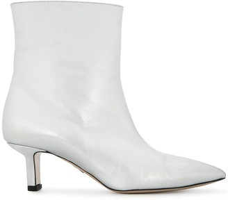 Paul Andrew Metallic Ankle Boots