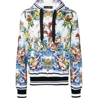 Dolce & Gabbana White Cotton Knitwear & Sweatshirts