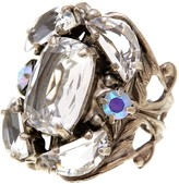Sorrelli Cutting Edge Crystal Statement Ring