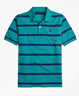 Brooks Brothers Cotton Stripe Polo