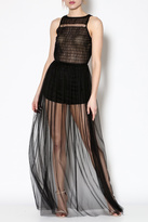 day and night Tulle Maxi Romper