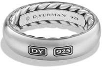 David Yurman Streamline Men's Band Ring, Silver