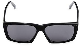 Celine 59MM Rectangular Plastic Sunglasses