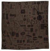 Hermes Carre H 70cm Cotton Silk Scarf