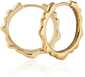 Monica Vinader Siren Muse Small Hoop Earrings
