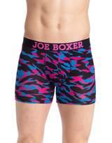 Joe Boxer Men's Wild One Junk Drawer Fitted Boxer - Modal Spandex Underwear