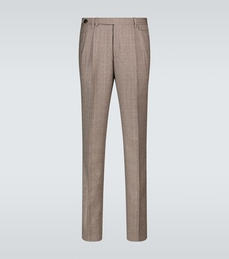 Brunello Cucinelli Wool checked pants
