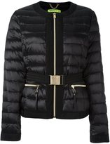 Versace cropped puffer jacket