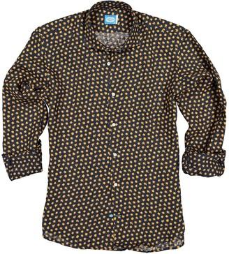 Panareha Palawan Floral Linen Shirt