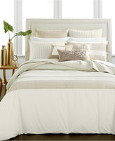 Hotel Collection Modern Eyelet Full/Queen Duvet Cover