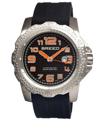 Breed Deep Men's Watch Black I