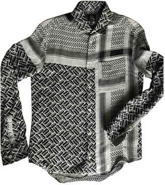 McQ Grey / Black Cotton Shirts