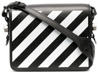 Off-White small Diag flap shoulder bag