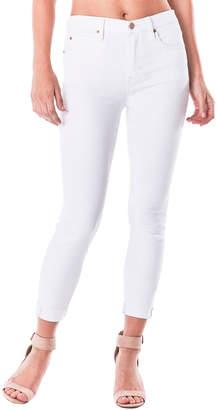 Nicole Miller High-Rise Skinny Cuffed Jeans