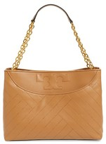 Tory Burch Alexa Leather Tote - Brown