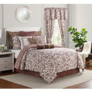 Rose Tree Vianos 4 Piece Comforter Set, Queen Bedding