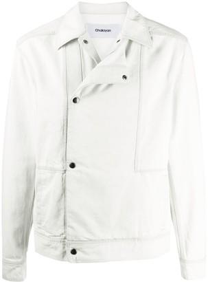 Chalayan Layered Panel Cotton Jacket
