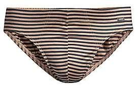 Hanro Men's Sporty Stripe Cotton Briefs