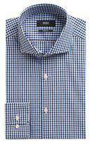 Hugo Boss Mark US Sharp Fit, Cotton Dress Shirt 15/R Blue