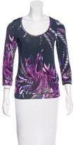 Just Cavalli Printed Lightweight Top