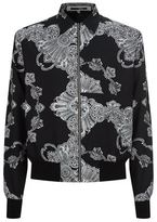 McQ by Alexander McQueen Paisley Print Bomber Jacket