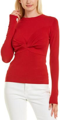 Autumn Cashmere Twist Front Sweater