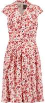 Lela Rose Jane Floral-Print Cotton-Blend Dress