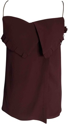 Edun Burgundy Top for Women