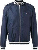 MAISON KITSUNÉ zipped bomber jacket - men - Polyester - M