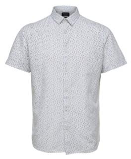 Selected Men's Short Sleeve Linen Shirt