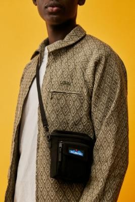 Kavu Black Hobart Satchel Bag - White ALL at Urban Outfitters