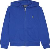 Ralph Lauren Zipped cotton hoody 2-7 years