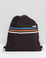 Vans Multi Stripe Drawstring Bag