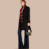 Burberry Single-breasted Wool Cashmere Military Coat