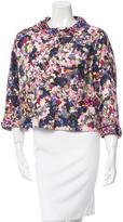 Erdem Embellished Floral Print Jacket