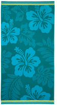 Tropic Bloom Beach Towel