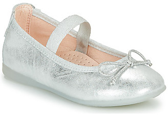 Pablosky Kids girls's Shoes (Pumps / Ballerinas) in Silver