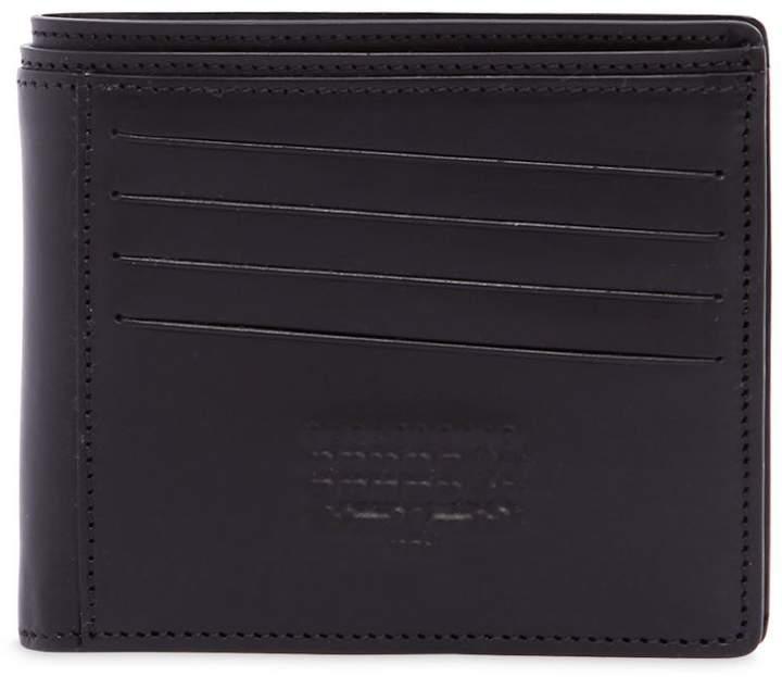 Maison Margiela Logo Embossed Leather Wallet