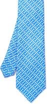J.Mclaughlin Italian Silk Tie in Heritage Chain