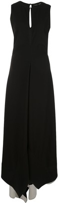 Proenza Schouler Sleeveless Textured Crepe Dress